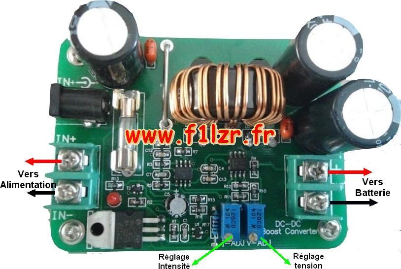 Desulfateur de batterie schema – Transformer. Electronique industrielle.