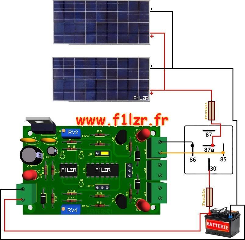 Incendie par panneaux photovoltaique
